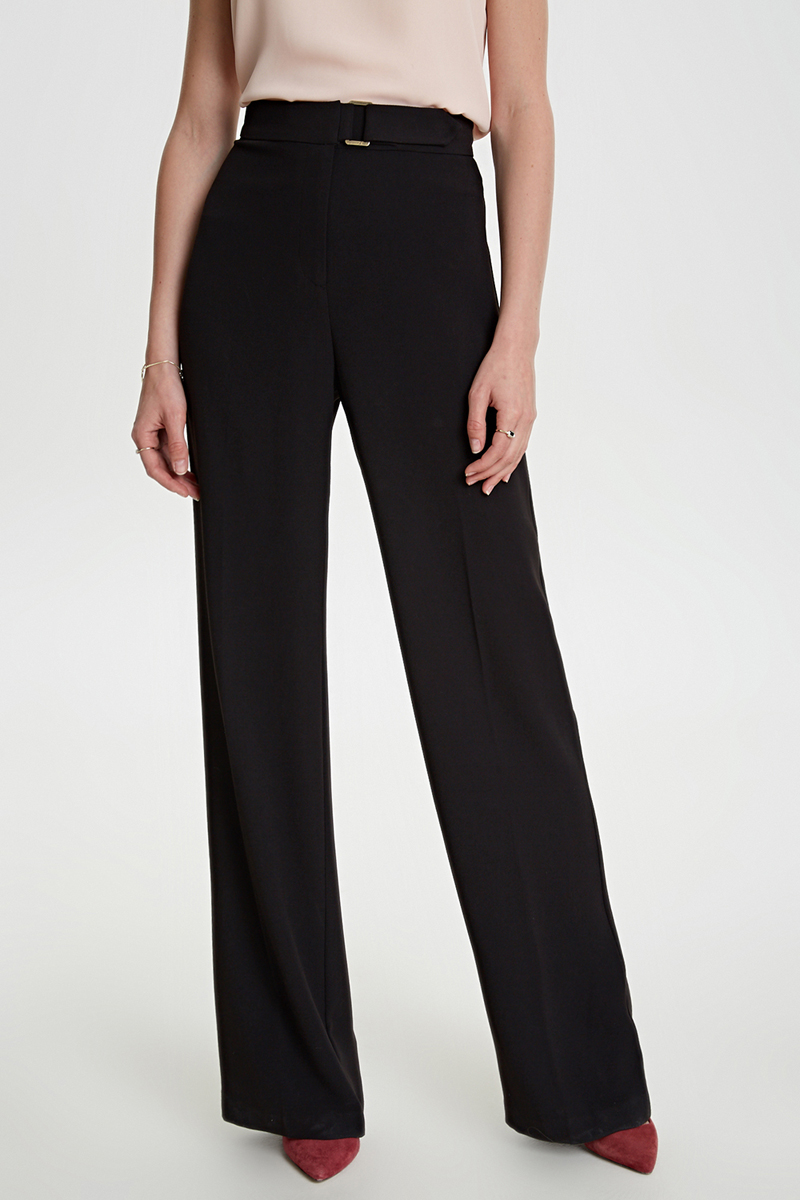 Брюки женские Concept Club Bain, цвет: черный. 10200160290_100. Размер XS (42) брюки concept club concept club co037ewwfd42