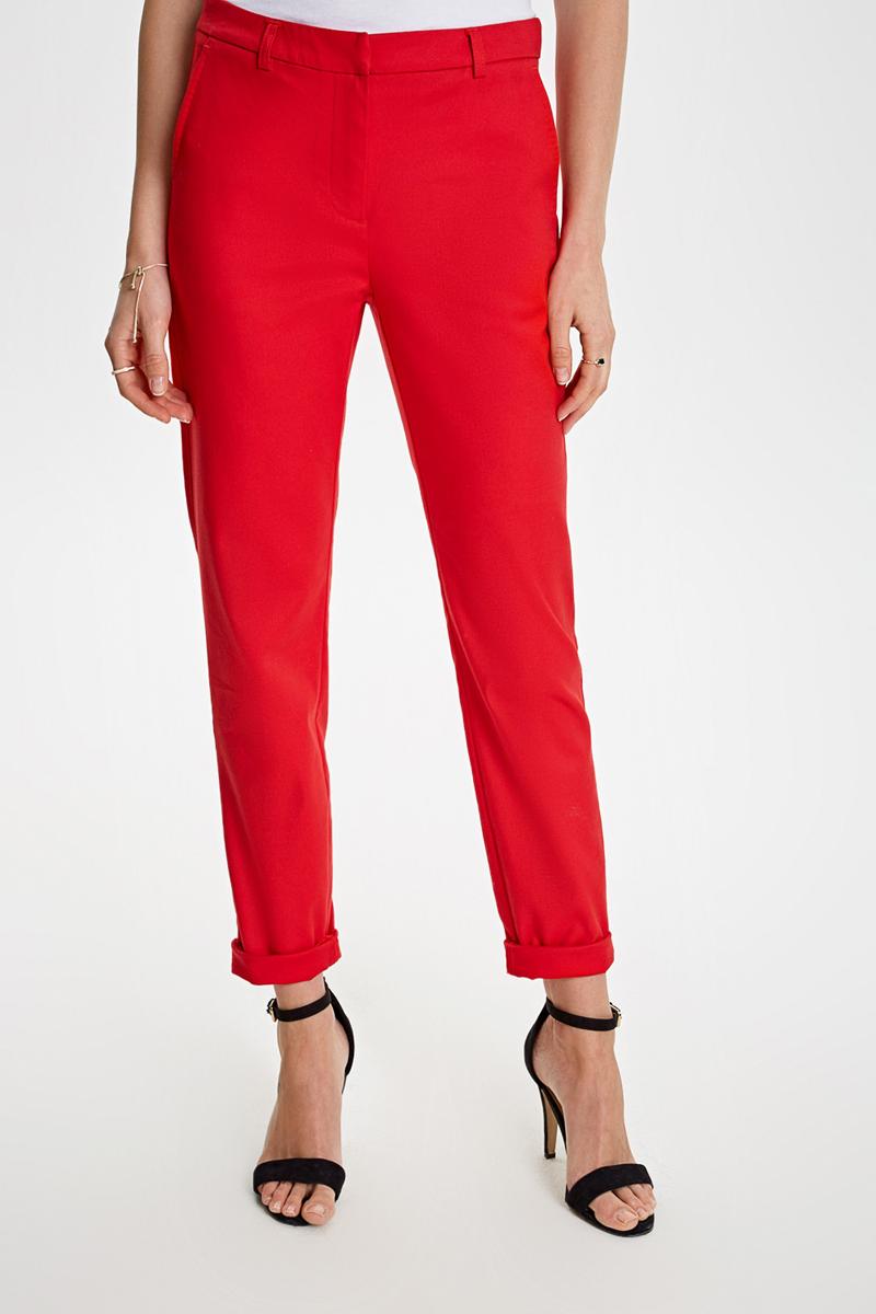 Брюки женские Concept Club Coral, цвет: красный. 10200160292_1500. Размер L (48) брюки concept club concept club co037ewwfd42