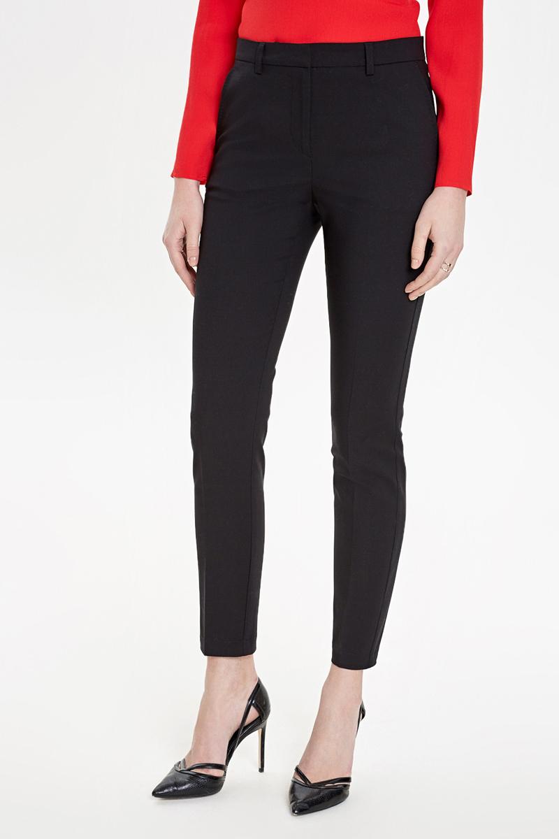 Брюки женские Concept Club Coral, цвет: черный. 10200160292_100. Размер XL (50) брюки женские concept club elb цвет розово коричневый 10200160282 1000 размер l 48