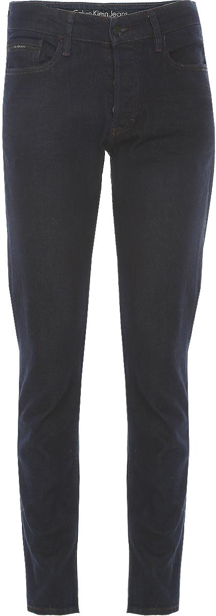 Джинсы мужские Calvin Klein Jeans, цвет: синий. J30J301093_9143. Размер 33-32 (50/52-32)J30J301093_9143