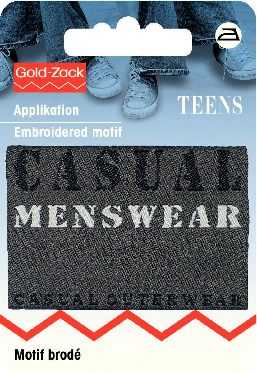 Zakazat.ru: Термоаппликация Prym Casual Menswear, цвет: серый