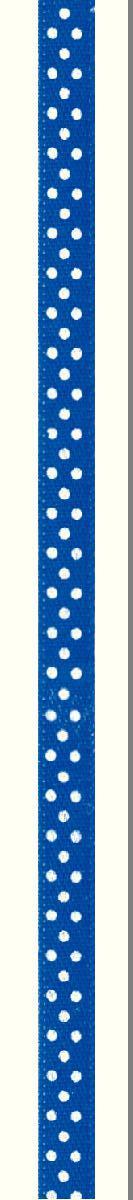 Лента атласная Prym Горошек, цвет: белый, синий, 6 мм, 4 м983506Атласная лента Prym изготовлена из 100% полиэстера. Область применения атласной ленты весьма широка. Изделие предназначено для оформления цветочных букетов, подарочных коробок, пакетов. Кроме того, она с успехом применяется для художественного оформлениявитрин, праздничного оформления помещений, изготовления искусственных цветов.Ее также можно использовать для творчества в различных техниках, таких как скрапбукинг, оформление аппликаций, для украшения фотоальбомов, подарков, конвертов, фоторамок, открыток и многогодругого. Ширина ленты: 6 мм. Длина ленты: 4 м.