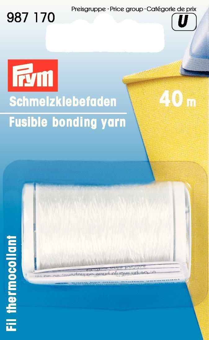 Клей-нитка Prym, 40 м987170Клей-нитка Prym идеально подходит для склеивания различных видов ткани. Благодаря клей-лете Prym вы сможете легко обработать края изделия не прошивая его. Длина нити: 40 м.