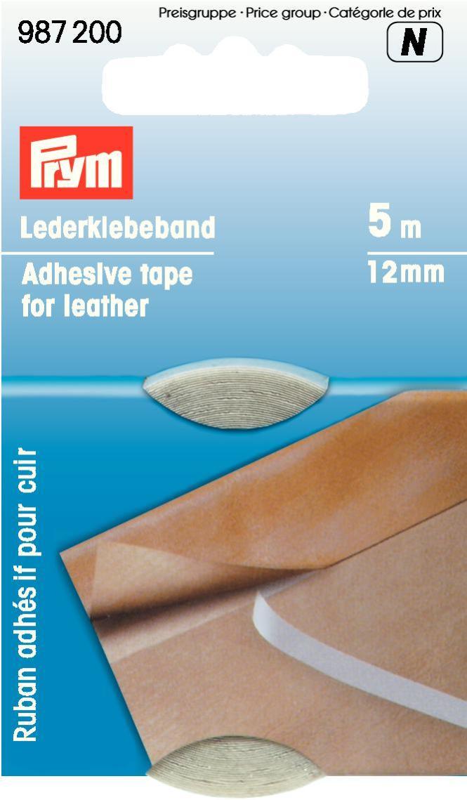 Лента клеящая Prym, для кожи, 12 мм лента клеящая henkel 1714773