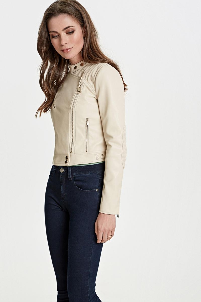Куртка женская Concept Club Ample, цвет: бежевый. 10200130142_9100. Размер XL (50) куртка женская concept club jordi цвет черный 10200130144 100 размер xl 50