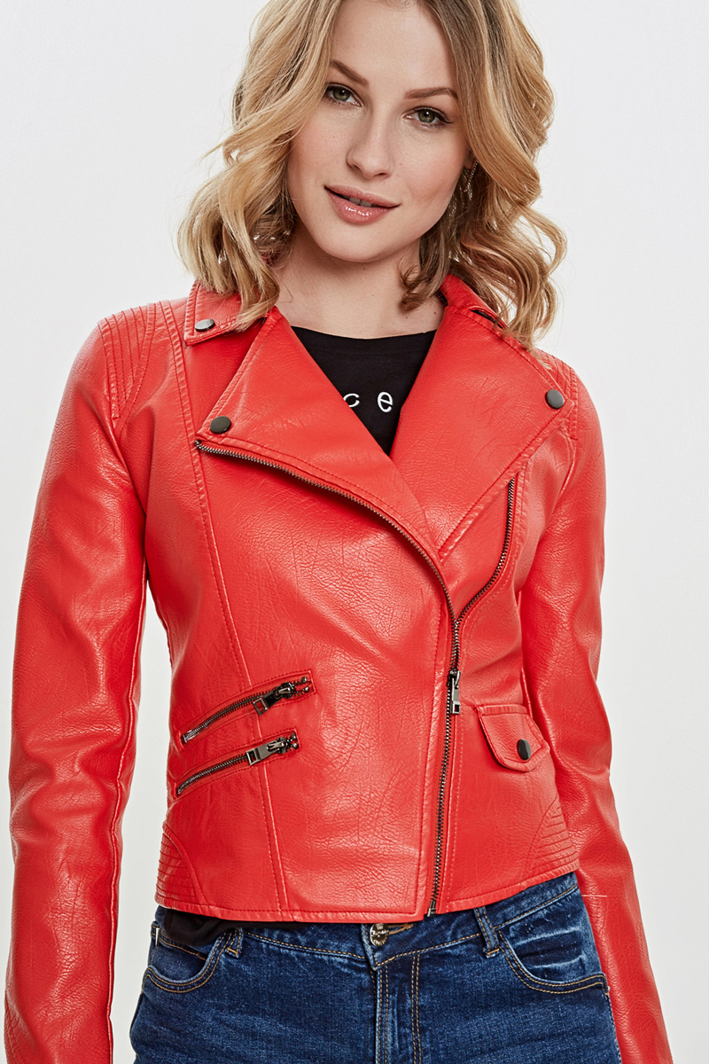 Куртка женская Concept Club Cur, цвет: красный. 10200130146_1500. Размер XL (50) куртка женская concept club jordi цвет черный 10200130144 100 размер xl 50