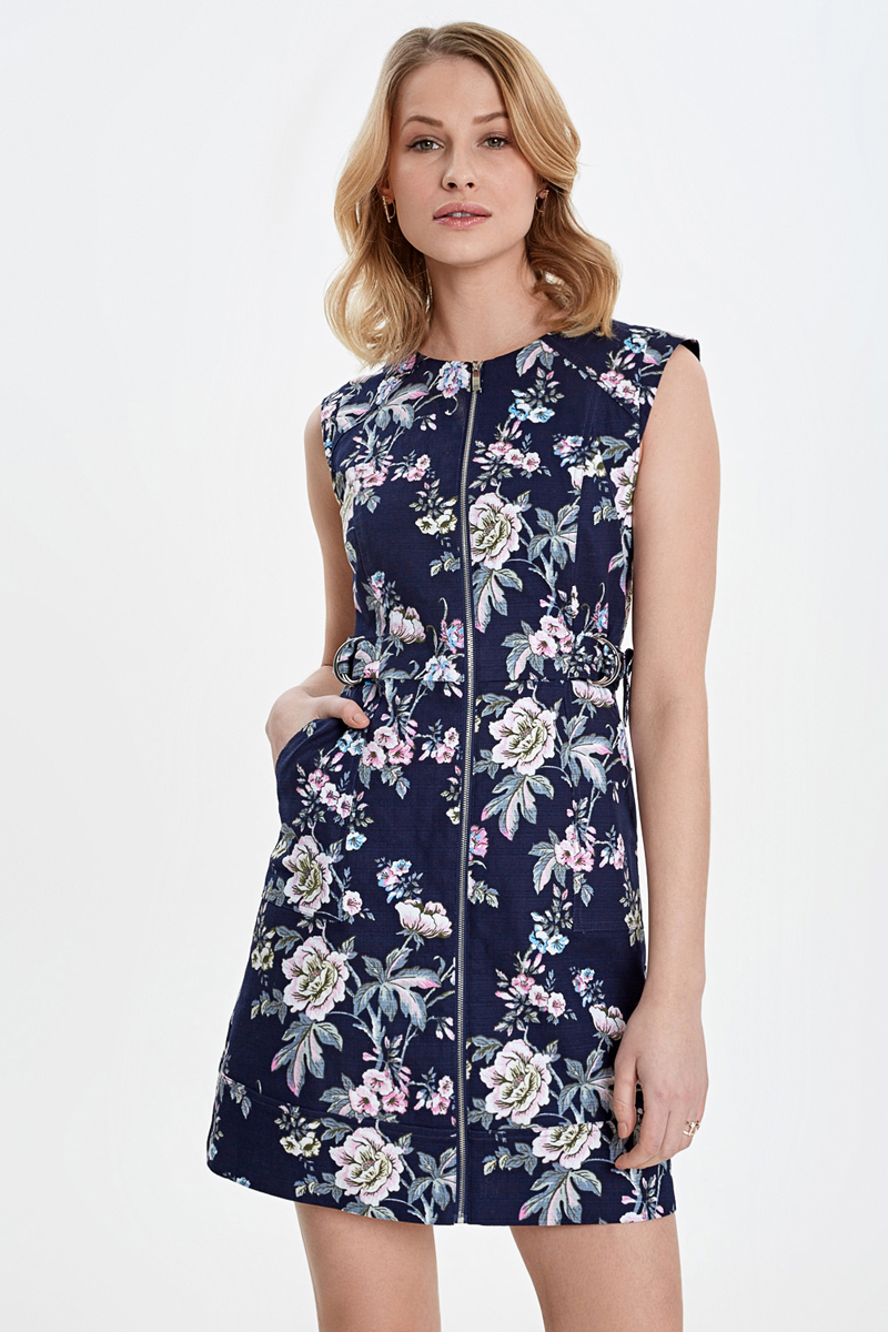 Платье Concept Club Dakota, цвет: темно-синий. 10200200451_8000. Размер L (48)
