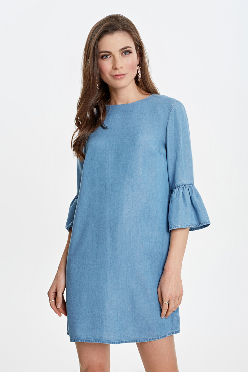 Платье Concept Club Domingo, цвет: светло-голубой. 10200200437_8500. Размер L (48)