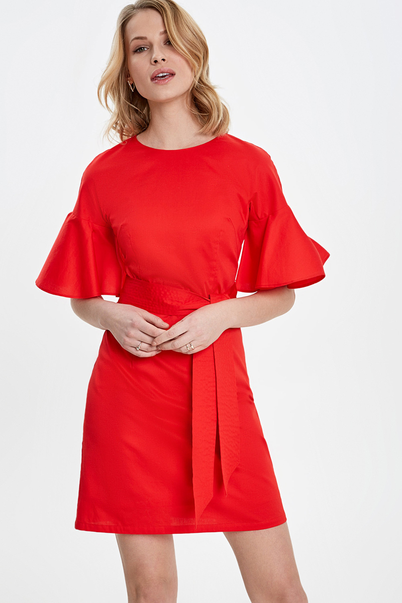 купить Платье Concept Club Emba, цвет: красный. 10200200456_1500. Размер XL (50) по цене 1599.2 рублей