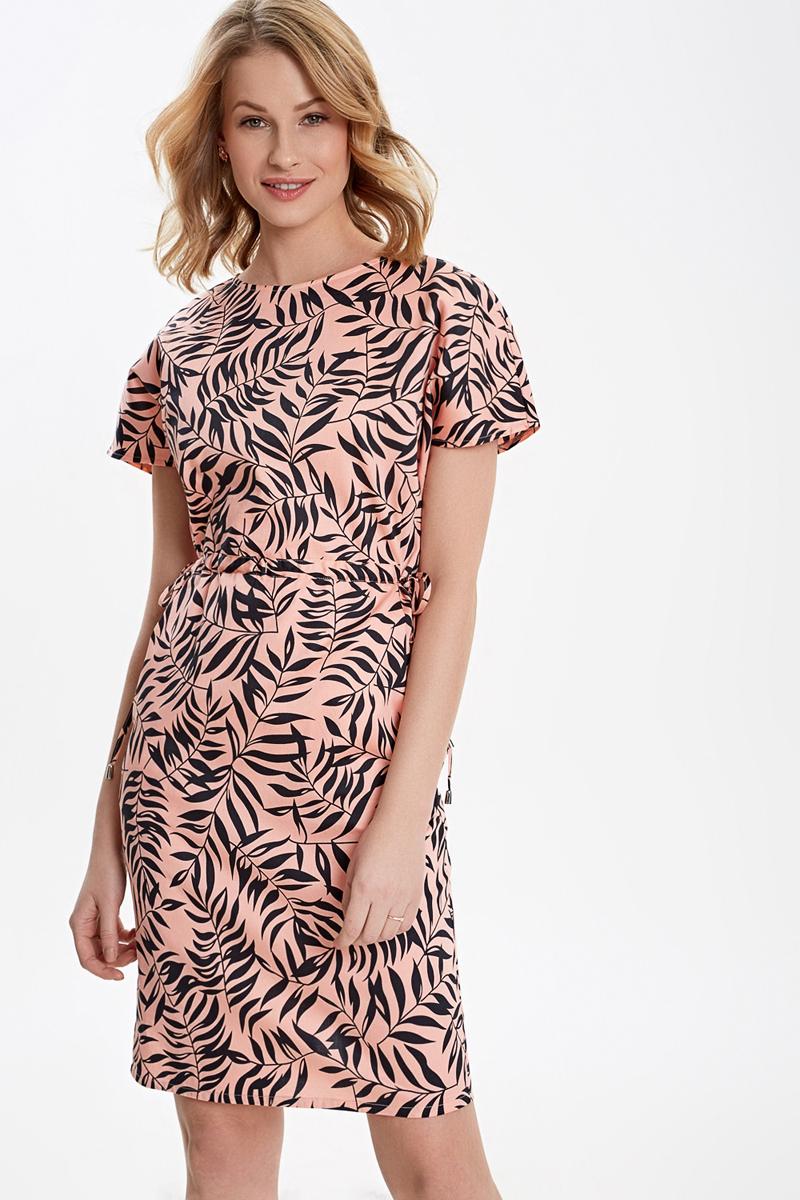 Платье Concept Club Emma, цвет: персиковый. 10200200446_9000. Размер L (48) красное боди emma xxl 3xl