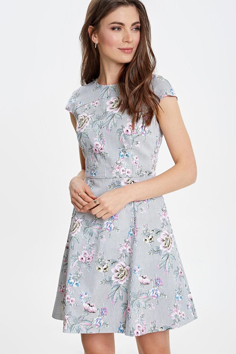 Платье Concept Club Ladybug, цвет: белый. 10200200458_4400. Размер XXS (40) сарафан concept club mang цвет черный 10200200447 100 размер xxs 40