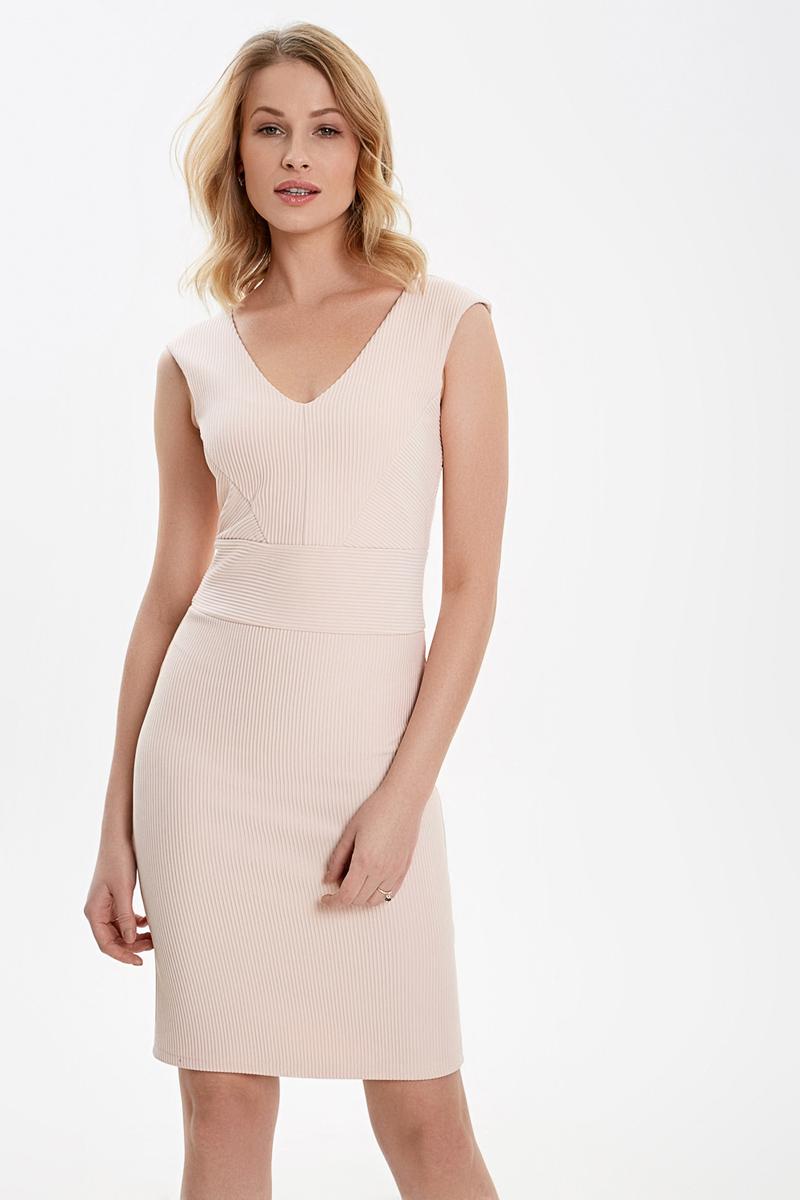 купить Платье Concept Club Liro, цвет: бежевый. 10200200440_9100. Размер XL (50) по цене 1599.2 рублей