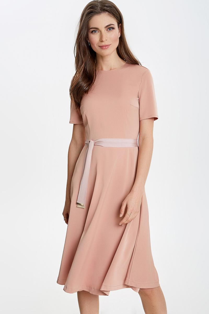 купить Платье Concept Club Salty, цвет: розово-бежевый. 10200200444_800. Размер XL (50) по цене 1999.2 рублей
