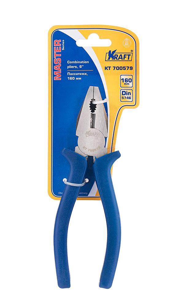 Купить Пассатижи комбинированные Kraft Master , 160 мм