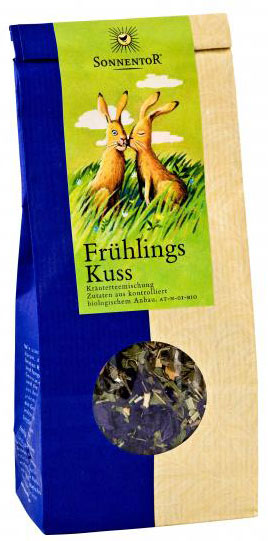 Sonnentor Весенний поцелуй травяной чай, 80 г травяной чай лесная фея