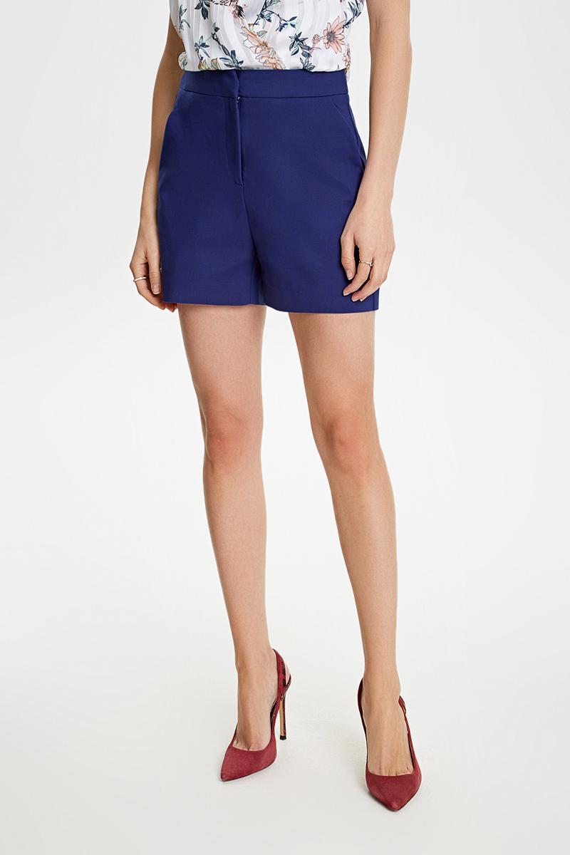 Шорты женские Concept Club Glae, цвет: синий. 10200420038_600. Размер L (48) брюки женские concept club elb цвет розово коричневый 10200160282 1000 размер l 48