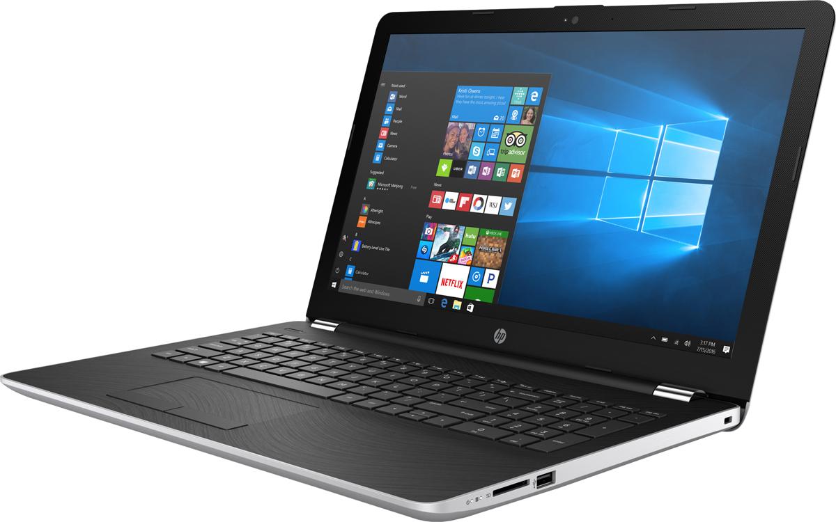 Фото HP 15-bw028ur, Natural Silver (2BT49EA) ноутбук hp 15 bw028ur