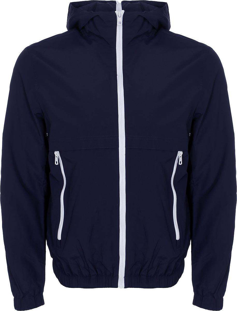 Ветровка мужская Calvin Klein Jeans, цвет: темно-синий. J30J306967_4020. Размер M (46/48)  - купить со скидкой