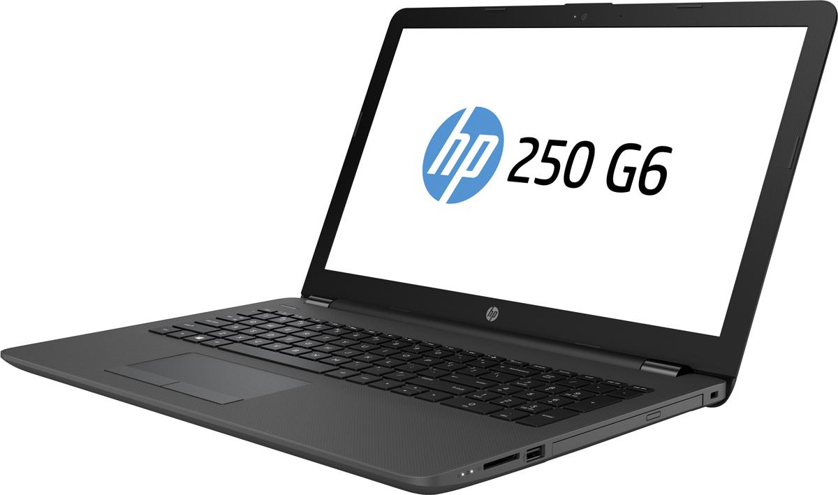 HP 250 G6, Dark Ash Silver (1XN78EA)506255Ноутбук HP 250 G6 это отличное средство для решения любых задач. Он объединяет в себе технологии Intel и всенеобходимое для совместной работы. Прочный корпус ноутбука надежно защищает его от повреждений припереноске.Будьте уверены - HP 250 G6 способен выполнять срочные задачи на ходу. Прочный корпус обеспечиваетнадежную защиту ноутбука и придает ему деловой внешний вид, соответствующий вашему стилю.Некоторые вопросы можно решить только в личной беседе. Благодаря дополнительной веб-камере HP HD сшироким динамическим диапазоном на виртуальных встречах вы будете выглядеть наилучшим образом даже приплохом освещении.Быстрое подключение к периферийным устройствам в офисе или дома с помощью традиционных разъемов RJ-45 иVGA. Ноутбук HP 250 G6 оснащен слотом для карт памяти SD. С его помощью можно удобно переносить данные исохранять их резервные копии.Микропрограммный модуль Trusted Platform Module (TPM) генерирует аппаратные ключи шифрования для защитыинформации, электронных писем и учетных данных.Оцените высокую скорость передачи данных благодаря модулю для подключения к локальной сети Gigabit иликомбинированному модулю для подключения к беспроводной локальной сети 802.11ac с поддержкой Bluetooth.Точные характеристики зависят от модификации.Ноутбук сертифицирован EAC и имеет русифицированную клавиатуру и Руководство пользователя