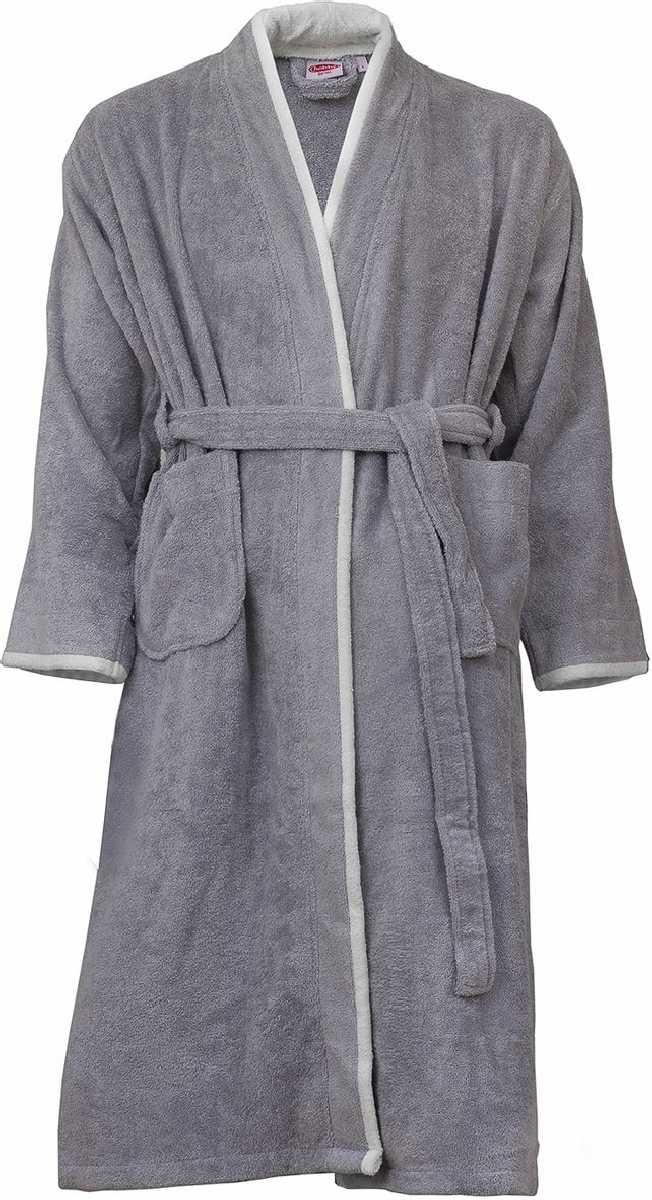 Купить Халат мужской Hobby Home Collection Sude, цвет: серый. 15010018. Размер XL (50/52)