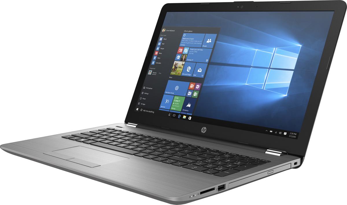 HP 250 G6, Silver (1XN75EA)1XN75EAНоутбук HP 250 G6 это отличное средство для решения любых задач. Он объединяет в себе технологии Intel и все необходимое для совместной работы. Прочный корпус ноутбука надежно защищает его от повреждений при переноске.Будьте уверены - HP 250 способен выполнять срочные задачи на ходу. Прочный корпус обеспечивает надежную защиту ноутбука и придает ему деловой внешний вид, соответствующий вашему стилю.Некоторые вопросы можно решить только в личной беседе. Благодаря дополнительной веб-камере HP HD с широким динамическим диапазоном на виртуальных встречах вы будете выглядеть наилучшим образом даже при плохом освещении.Быстрое подключение к периферийным устройствам в офисе или дома с помощью традиционных разъемов RJ-45 и VGA. Ноутбук HP 250 оснащен слотом для карт памяти SD. С его помощью можно удобно переносить данные и сохранять их резервные копии.Микропрограммный модуль Trusted Platform Module (TPM) генерирует аппаратные ключи шифрования для защиты информации, электронных писем и учетных данных.Оцените высокую скорость передачи данных благодаря модулю для подключения к локальной сети Gigabit или комбинированному модулю для подключения к беспроводной локальной сети 802.11ac с поддержкой Bluetooth.Точные характеристики зависят от модификации.Ноутбук сертифицирован EAC и имеет русифицированную клавиатуру и Руководство пользователя