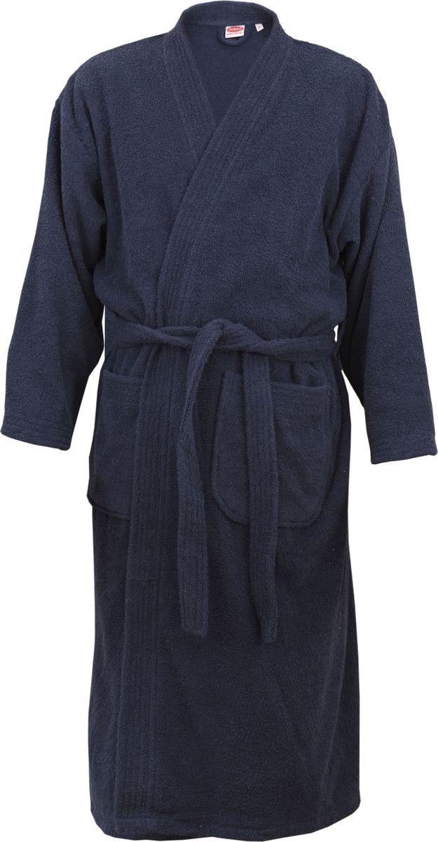 Купить Халат Hobby Home Collection Smart, цвет: синий. 15010018. Размер L (48/50)