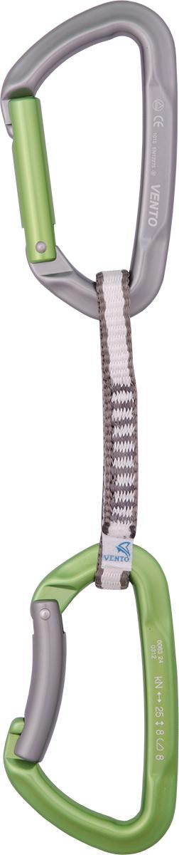 Оттяжка для скалолазания Vento Set 5, с карабином