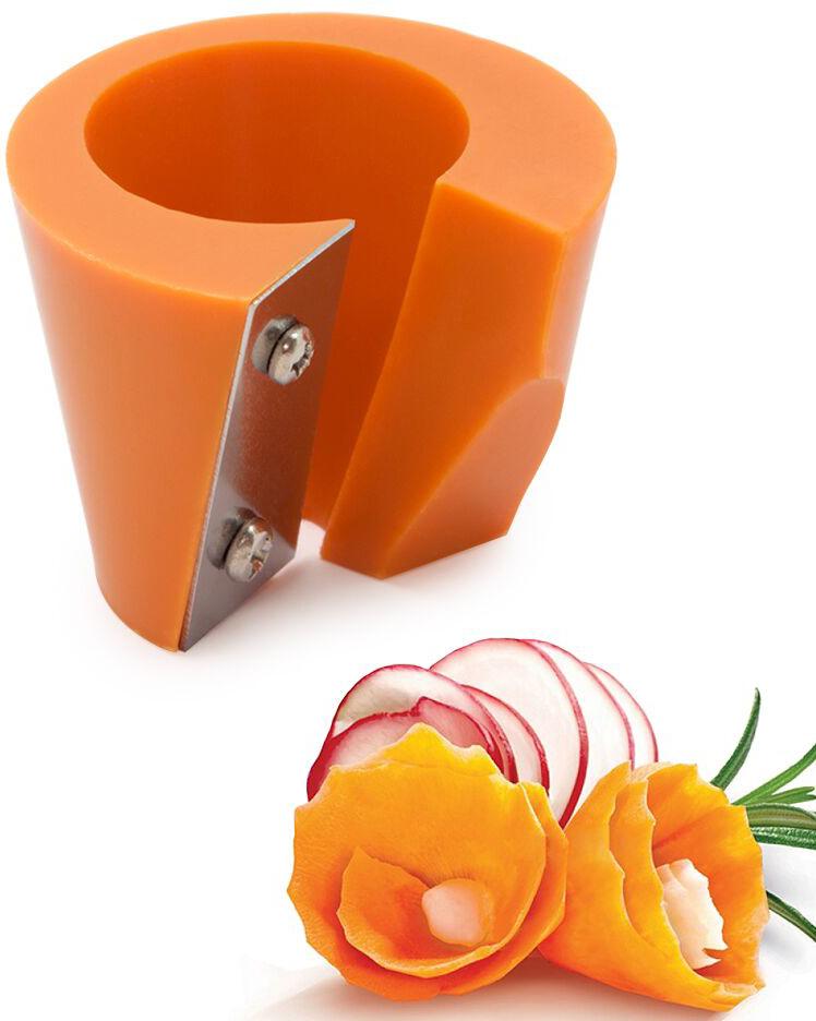 Точилка для моркови Borner, цвет: оранжевый бокс для вставок borner цвет прозрачный 117 11