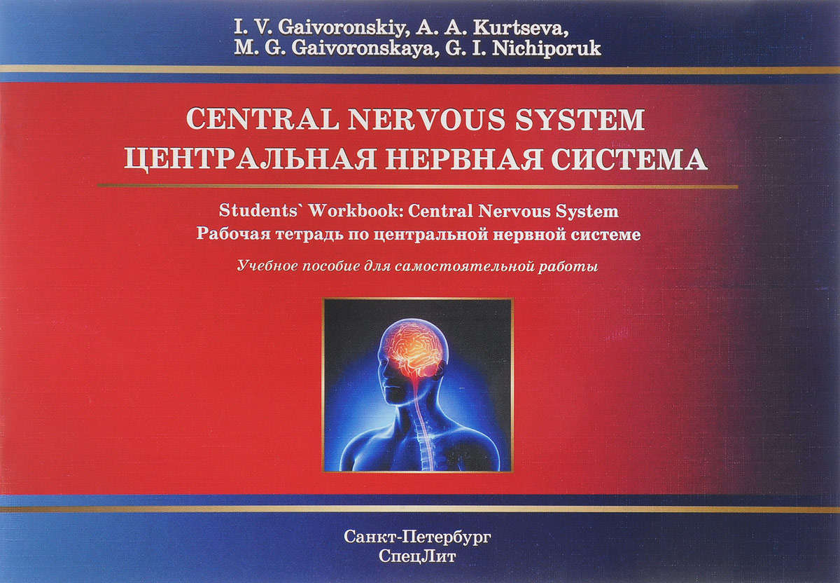 И. В. Гайворонский, Г. И. Ничипорук, А. А. Курцева, М. Г. Гайворонская Central Nervous System: Students' Workbook низорал 30 в россии