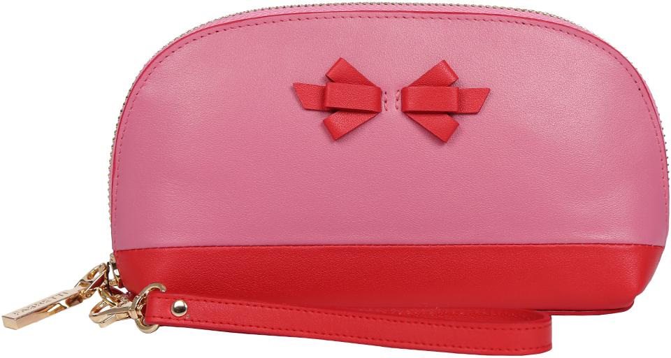 Косметичка женская Fabretti, цвет: розовый. 763SZB1-pink N