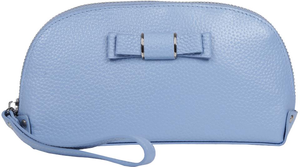 Косметичка женская Fabretti, цвет: синий. 763SZB1-light blue