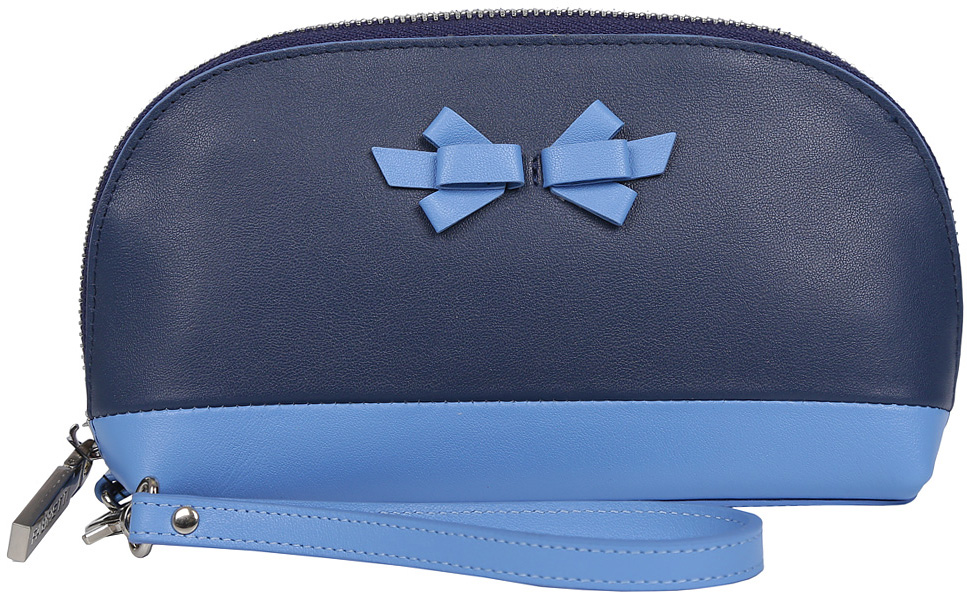 Косметичка женская Fabretti, цвет: синий. 763SZB1-naviy N