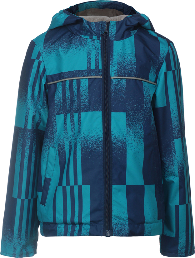 Куртка для мальчика Jicco By Oldos Ролан, цвет: голубой. 3J8JK07. Размер 98, 3 года комбинезон для девочки jicco by oldos ленни цвет темно розовый голубой 1j7ov02 размер 92 2 года
