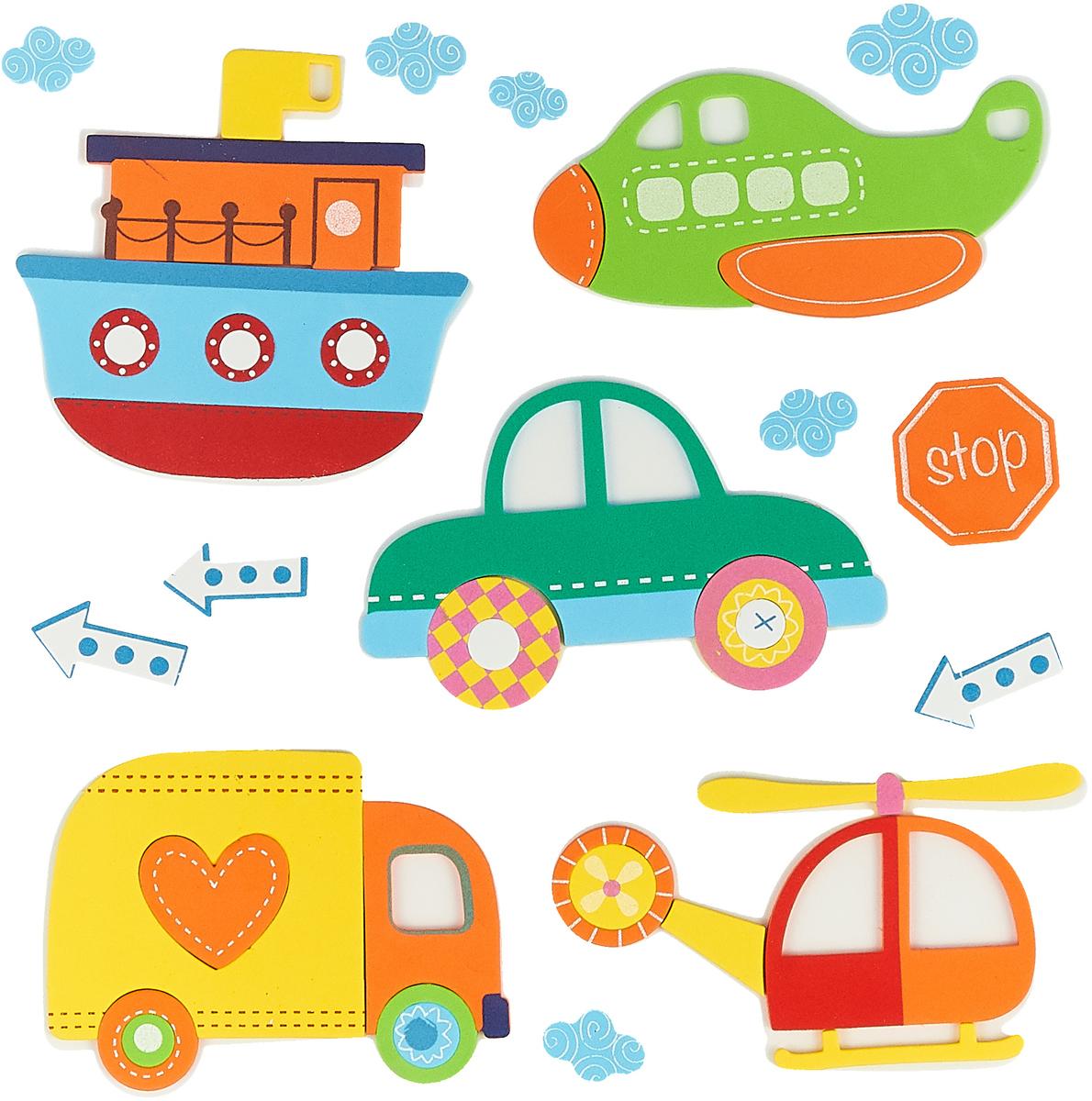 Room Decor Наклейка интерьерная Детские картинки Транспорт1123361_Транспорт2Room Decor Наклейка интерьерная Детские картинки Транспорт