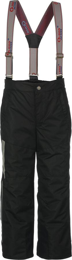 Брюки утепленные для мальчика Oldos Active Сириус, цвет: черный. 3A8PT27. Размер 134, 9 лет