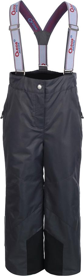 Брюки утепленные для девочки Oldos Active Омега, цвет: темно-серый. 3A8PT26. Размер 116, 6 лет3A8PT26Незаменимые в межсезонье ветровые брюки из мембранной коллекции от Oldos Active. Верхняя ткань с мембраной 3000/3000 обеспечивает водонепроницаемость, при этом одежда дышит. Покрытие Teflon повышает износостойкость, а также облегчает уход за брюками. Подкладка - ворсовое полотно гладкой стороной к телу. Брюки имеют все необходимое для комфортной носки: широкие эластичные съемные лямки, регулируемые по длине; регулировку объема по талии; ветрозащитные муфты с антискользящей резинкой; усиления по низу брючин в местах особого износа; карманы на молнии; светоотражающие элементы.
