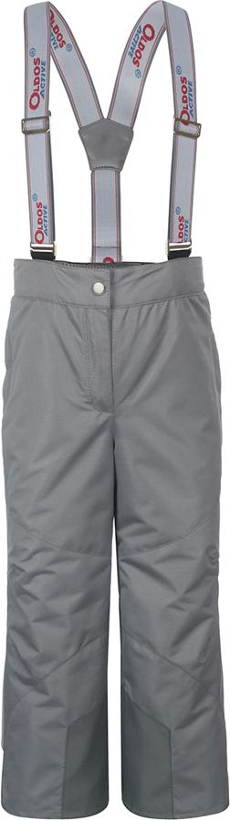 Брюки утепленные для девочки Oldos Active Омега, цвет: светло-серый. 3A8PT26. Размер 98, 3 года3A8PT26Незаменимые в межсезонье ветровые брюки из мембранной коллекции от Oldos Active. Верхняя ткань с мембраной 3000/3000 обеспечивает водонепроницаемость, при этом одежда дышит. Покрытие Teflon повышает износостойкость, а также облегчает уход за брюками. Подкладка - ворсовое полотно гладкой стороной к телу. Брюки имеют все необходимое для комфортной носки: широкие эластичные съемные лямки, регулируемые по длине; регулировку объема по талии; ветрозащитные муфты с антискользящей резинкой; усиления по низу брючин в местах особого износа; карманы на молнии; светоотражающие элементы.