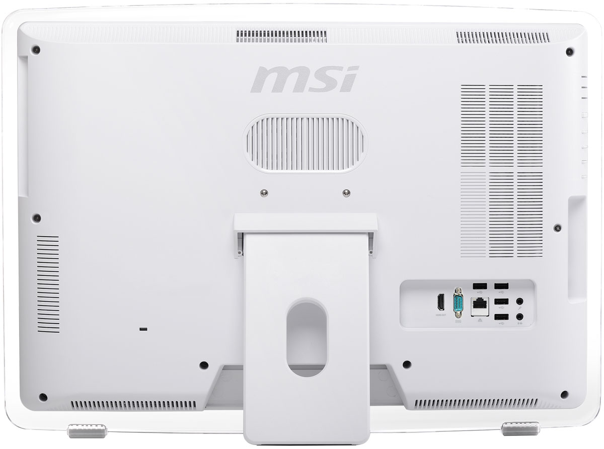 MSI Pro 22ET 4BW-037RU, Whiteмоноблок ASUS