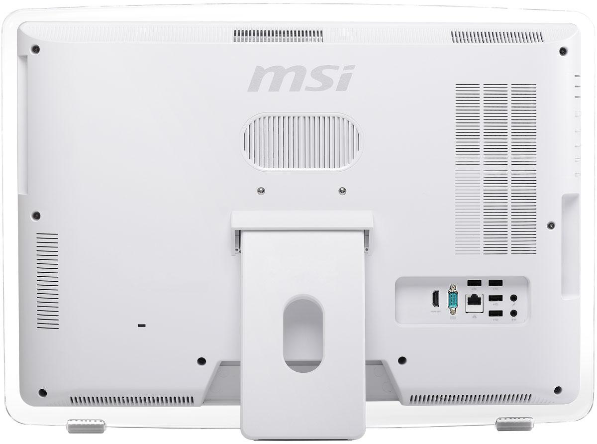 MSI Pro 22ET 4BW-035RU, Whiteмоноблок MSI