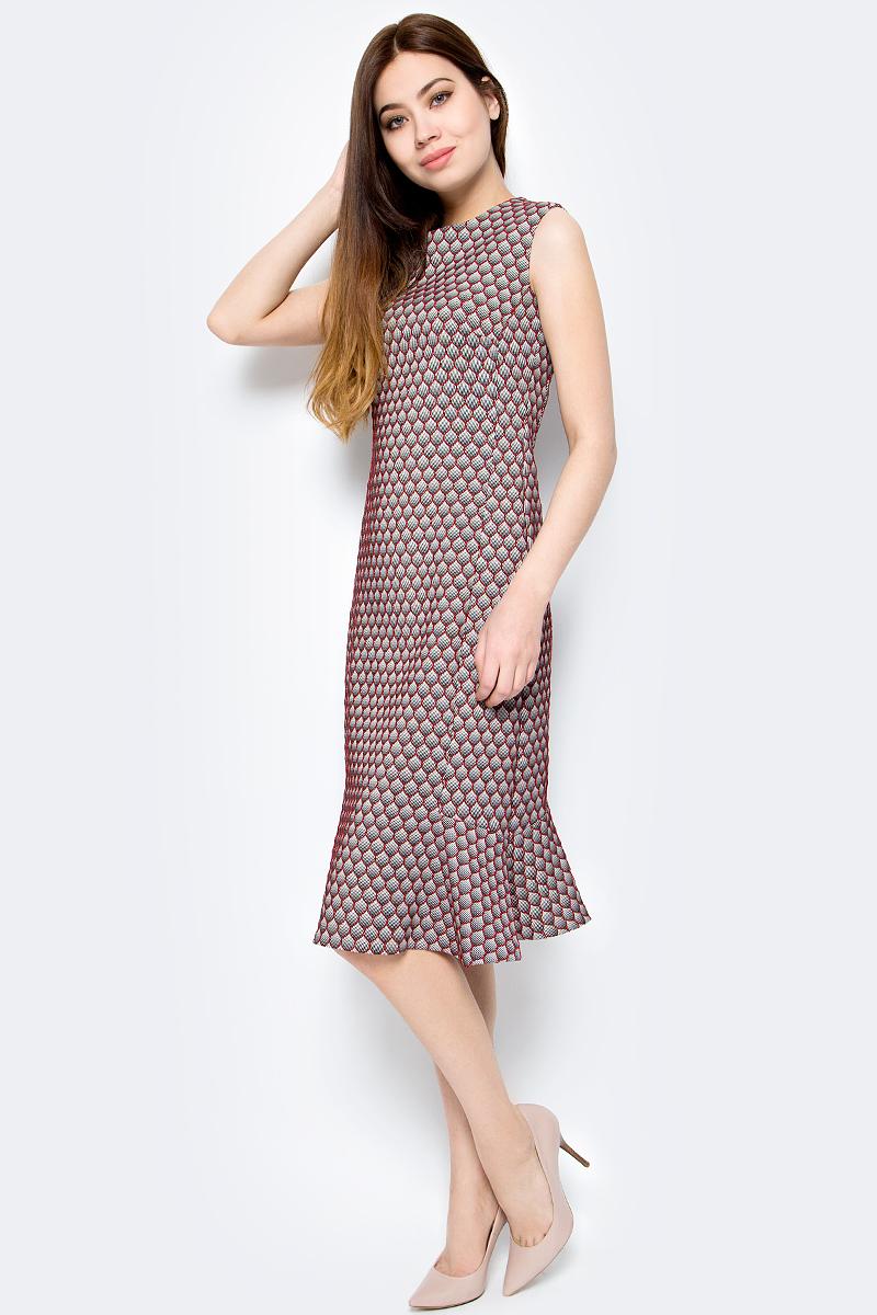 Платье женское adL, цвет: красный. 12432319001_006. Размер XS (40/42) платье adl adl ad005ewqdk48