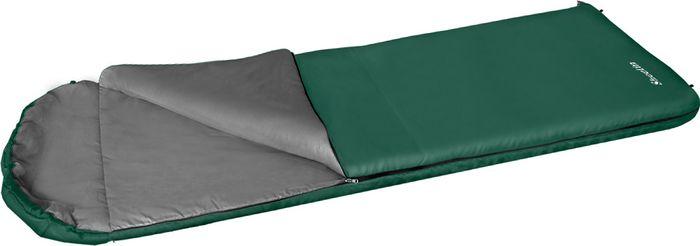 Спальный мешок Greenell Шелин-5 , правосторонняя молния, цвет: зеленый