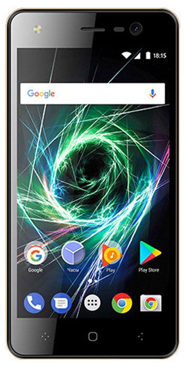 BQ 5009L Trend, Gold85956642Смартфон BQ 5009L Trend оснащен ярким 5 IPS дисплеем с технологией 2,5D Curved Glass. Модель обладает функциямивысокопроизводительного смартфона,поэтому станет незаменимым помощником не только в развлечениях, общении, интернет-серфинге, но и вучебе. Также вы сможете просматривать видео в формате высокой четкости c HD разрешением 1280 х 720.За эффективное использование всех ресурсов устройства отвечает проверенная ОС Android 7.0. Производительный 4 ядерный процессорразработан специально с учетом актуальных запросов пользователей: улучшена графическая составляющая, повышена производительность иоптимизировано энергопотребление.Смартфон поддерживаетвысокоскоростной интернет 4G LTE. 8 Гб встроенной памяти можно увеличить до 32 ГБ используя MicroSD. Закачественные снимки отвечают две камеры по 5 МП каждая.Телефон сертифицирован EAC и имеет русифицированный интерфейс меню и Руководство пользователя.