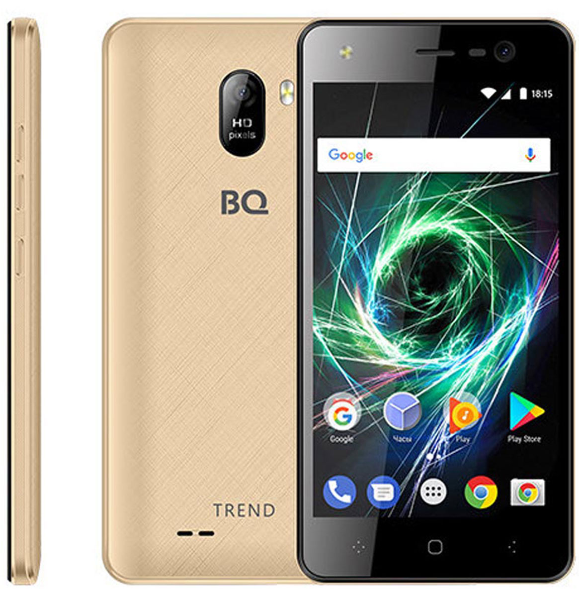 BQ 5009L Trend, Gold BQ Mobile