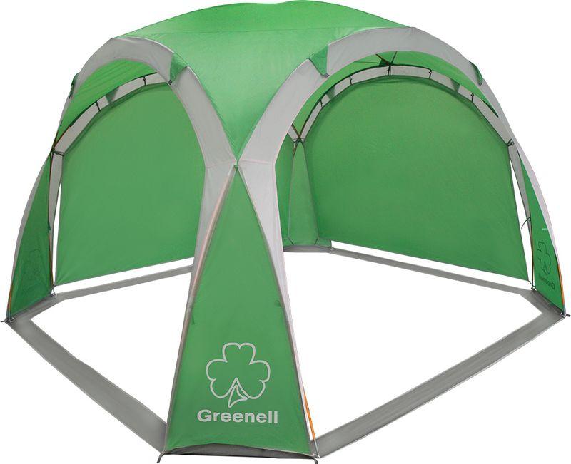 """Тент Greenell """"Пергола"""" защищает от солнца и ветра. Две съемные стенки тента позволяют выбирать необходимое направление для защиты."""