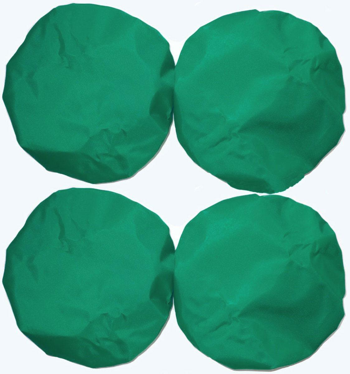Чудо-Чадо Чехлы на колеса для коляски диаметр 28-38 см цвет зеленый 4 шт чехлы для рапир москва