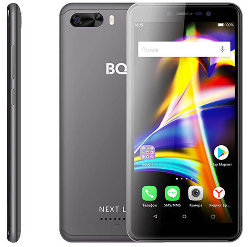 BQ 5508L Next LTE, Gray