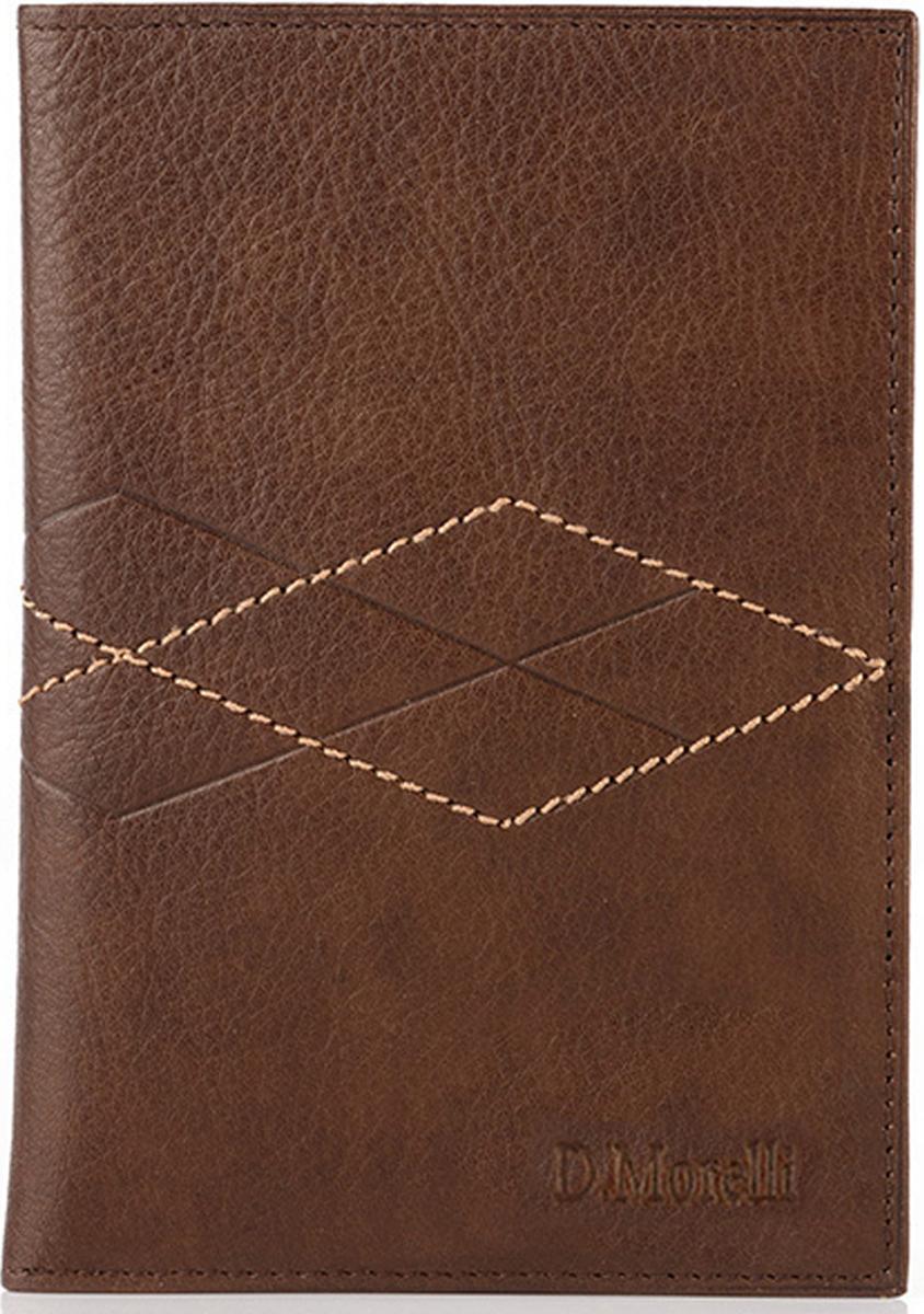 Бумажник водителя мужской D. Morelli Бонд , цвет: коричневый. DM-B001-K022  - купить со скидкой