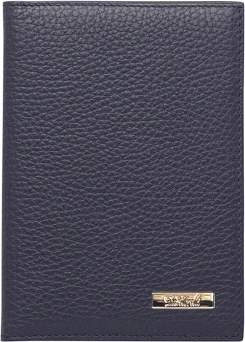 Обложка для паспорта женская D. Morelli Павия, цвет: синий. DM-PS02-F08