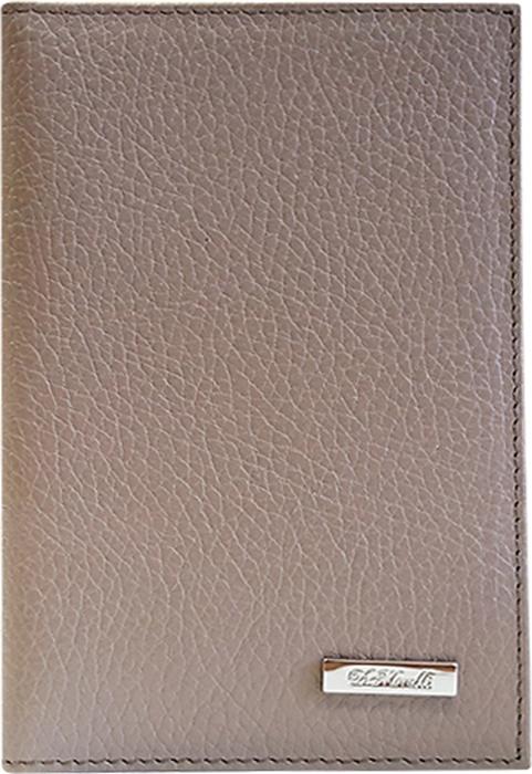 Обложка для паспорта женская D. Morelli Павия, цвет: капучино. DM-PS02-F24