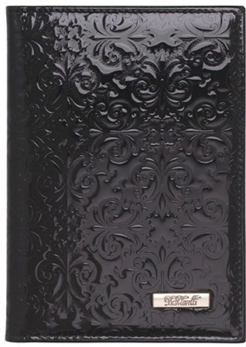 Обложка для паспорта женская D. Morelli Барокко, цвет: черный обложка для паспорта женская d morelli lime цвет салатовый